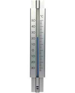 Hendrik Jan buitenthermometer aluminium zilver 30 cm