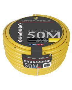 "Gele slang 1"" 50m, getricoteerd high twist resistant system"