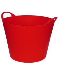 Flexibel kuipje 42l rood