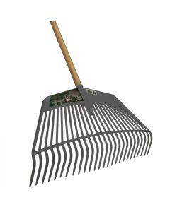 Bladvork pp grijs 160cm steel