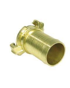 Gk-snelkoppeling ø 32 mm met slangtule (messing) op kaart