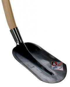 Straatmakersschop excellent 110cm dubbel gebogen steel