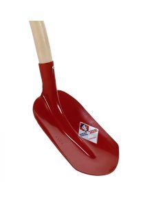 Schepbats 0 rood gehard 100cm