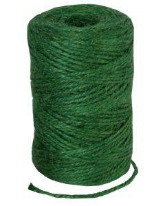 Jute touw groen 90m