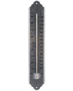 Thermometer metaal 50cm gegalvaniseerd