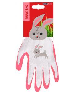 Kinderhandschoen 5-7 jaar konijn