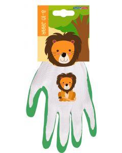 Kinderhandschoen 8-10 jaar leeuw