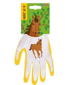 Kinderhandschoen 8-10 jaar paard