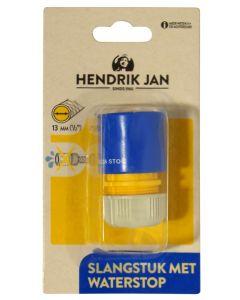 Hendrik Jan slangstuk met waterstop kunststof 1/2 - 13 mm