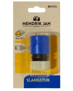 Hendrik Jan slangstuk kunststof 1/2 - 13 mm