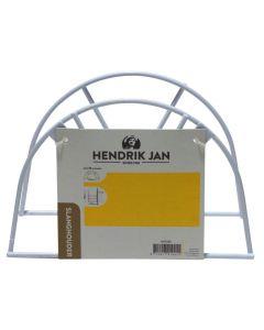 Hendrik Jan wandslanghouder metaal wit