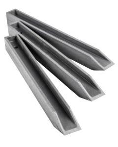 Eco h-profiel 38cm per 10 stuks