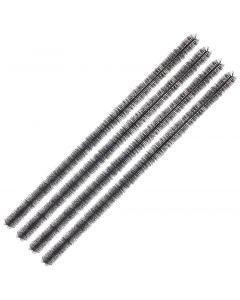 Slakkenborstel 100cm set van 4 stuks
