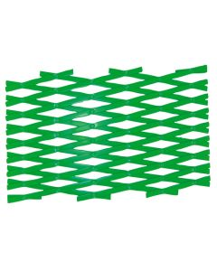Hendrik Jan plantenrek kunststof groen 60x180 cm