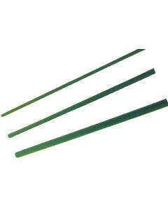 Hendrik Jan plantenstok groen 120 cm