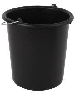 Emmer 10 liter zwart