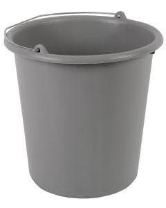 Emmer 5 liter grijs